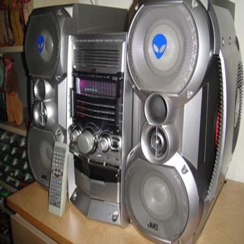 музыкальный центр JVC CA-HX-Z10
