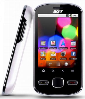 смартфон Acer beTouch E140