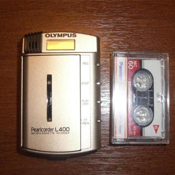 диктофон Olympus Pearlcorder L400