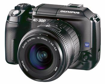 цифровая фотокамера Olympus E-300