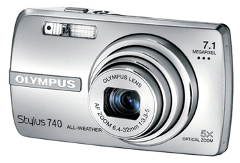 цифровая фотокамера Olympus Stylus 740/µ 740