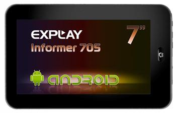 планшет Explay Informer 705/707