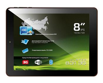 планшет Explay Surfer 8.31 3G