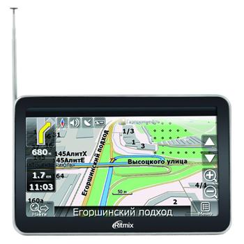 GPS-навигатор Ritmix RGP-586 TV