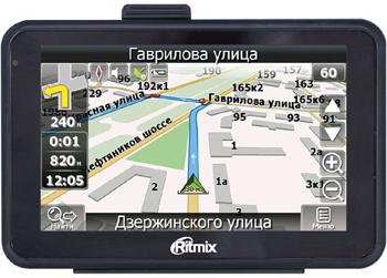 GPS-навигатор Ritmix RGP-589 DVR