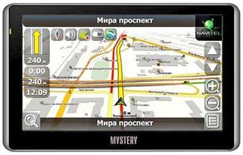 навигатор Mystery MNS-410MP/MNS-510MP