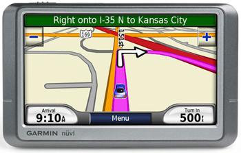 GPS-автонавигатор Garmin Nuvi 250W
