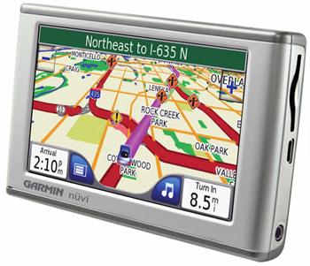 GPS-автонавигатор Garmin Nuvi 600/650
