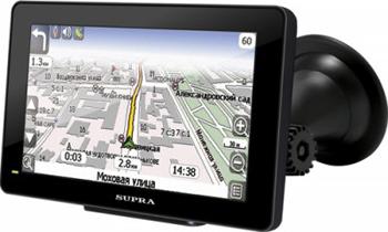 GPS-навигатор Supra SNP-505BT