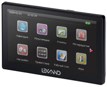 GPS-навигатор Lexand ST-570/ST-575