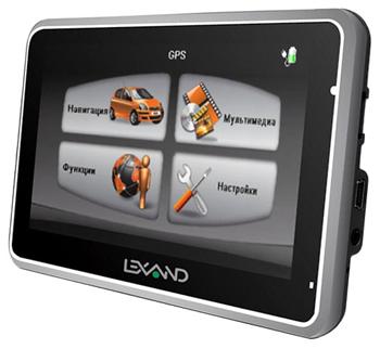 GPS-навигатор Lexand Si-512/Si-515