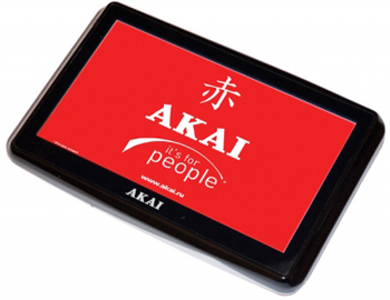 GPS-навигатор Akai PN-N501BS