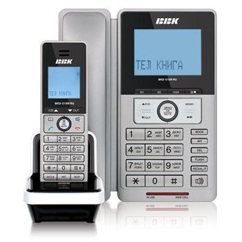 DECT телефон BBK BKD-518R RU/BKD-818R RU
